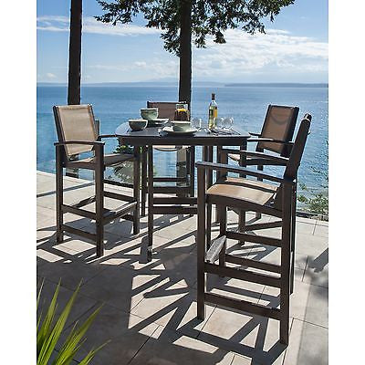 Polywood Coastal Bar Set - Skylar's Home and Patio