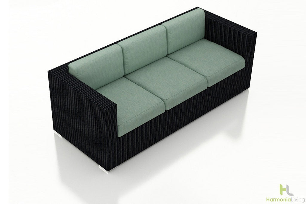 Urbana Coffee Bean Sofa - Skylar's Home and Patio
