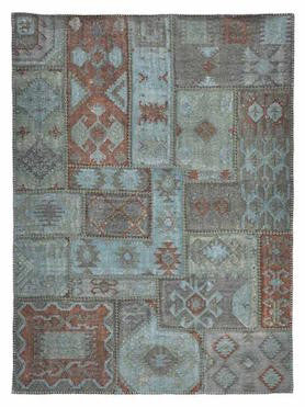 Patchwork Kilim Lagoon - Skylar's Home and Patio