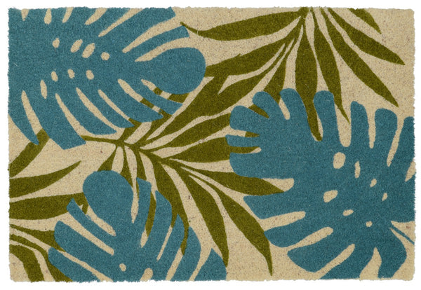 DM Palms Teal/Green 24x36