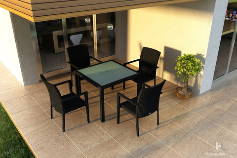 District 6-Seater Rectangular Dining Table - Skylar's Home and Patio