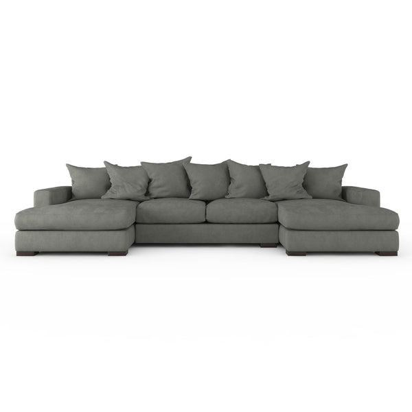 Universal Universal Universal Universal Universal  sc 1 st  Skylaru0027s Home and Patio : sectional sofa with double chaise - Sectionals, Sofas & Couches