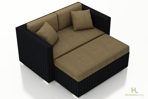 Urbana Coffee Bean Day Lounger - Skylar's Home and Patio