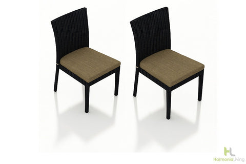 Urbana Coffee Bean Dining Side Chair (Set of 2) - Skylar's Home and Patio