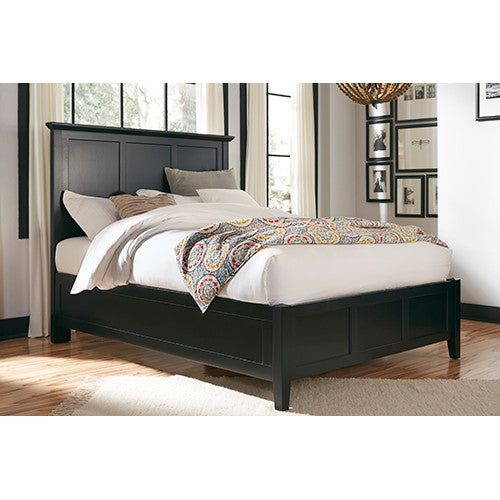 Tarah Low-Profile Bed/Black - Skylar's Home and Patio