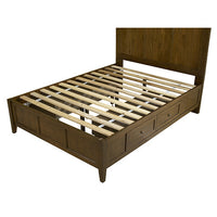 Tarah Storage Bed/Truffle - Skylar's Home and Patio