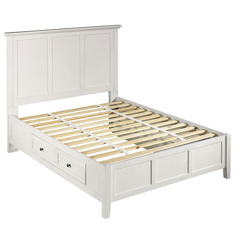 Tarah Storage Bed/White - Skylar's Home and Patio