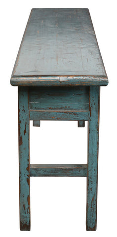 Fiona Console Tbl Turquoise - Skylar's Home and Patio