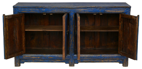 Amherst 4Dr Buffet AntiqueBlue - Skylar's Home and Patio