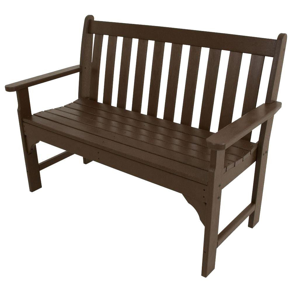 "Polywood 48"" Vineyard Bench - Skylar's Home and Patio"