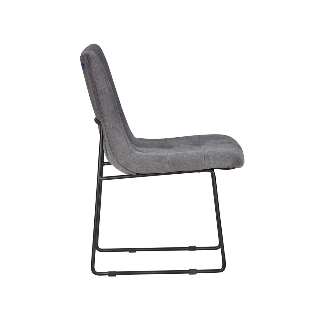 Emile Side Chair Smoky Gray - Skylar's Home and Patio