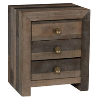 Omni 3Dwr Nightstand Storm - Skylar's Home and Patio