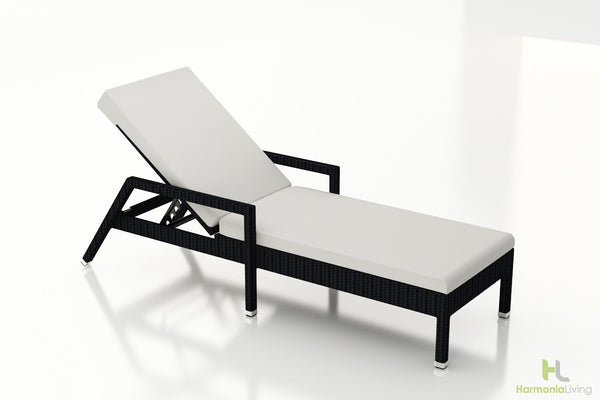 Urbana Coffee Bean Reclining Chaise Lounge
