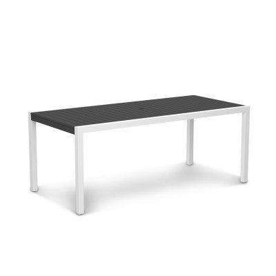 "POLYWOOD® MOD 36"" x 73"" Dining Table - Skylar's Home and Patio"