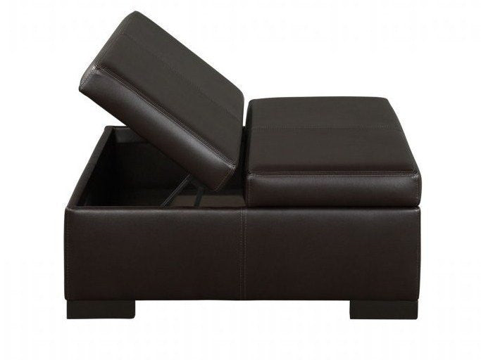 Donavan Double Storage Ottoman - Skylar's Home and Patio