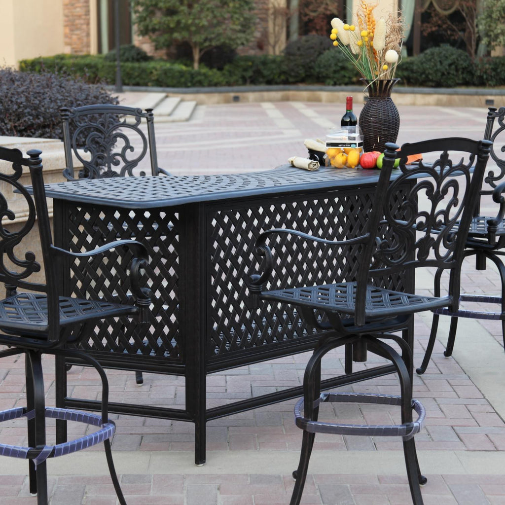 Santa Barbara Bar Set (4 Person) - Skylar's Home and Patio