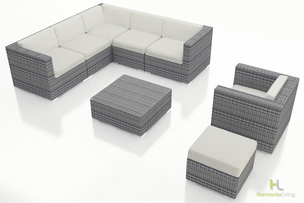 District 8 Pc. Sectional Set - Skylar's Home and Patio