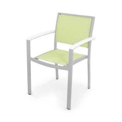 POLYWOOD® Bayline™ Dining Arm Chair - Skylar's Home and Patio
