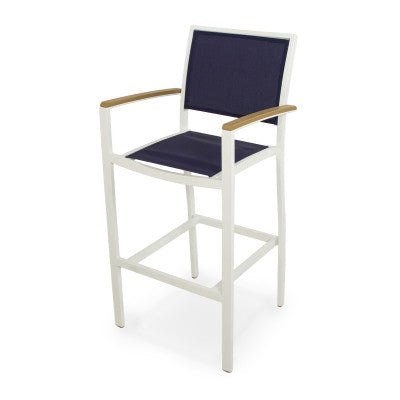 Polywood Bar Stools San Diego: POLYWOOD® Bayline™ Bar Arm Chair