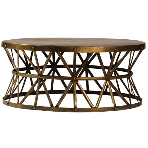 Lionel Round Coffee Table - Skylar's Home and Patio
