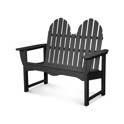 "POLYWOOD® Classic Adirondack 48"" Bench - Skylar's Home and Patio"