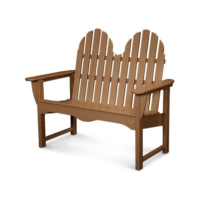 "POLYWOOD® Classic Adirondack 48"" Bench - Polywood Products San Diego"