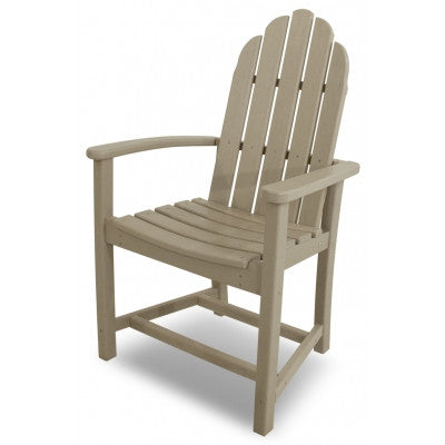 POLYWOOD® Classic Adirondack Dining Chair - Skylar's Home and Patio