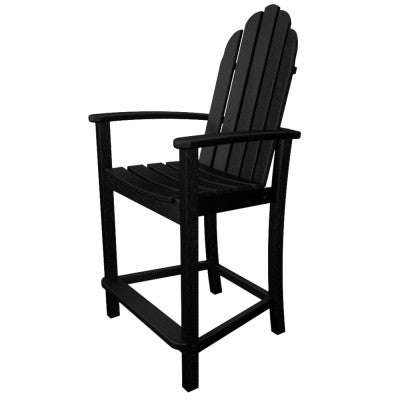 POLYWOOD® Classic Adirondack Counter Chair