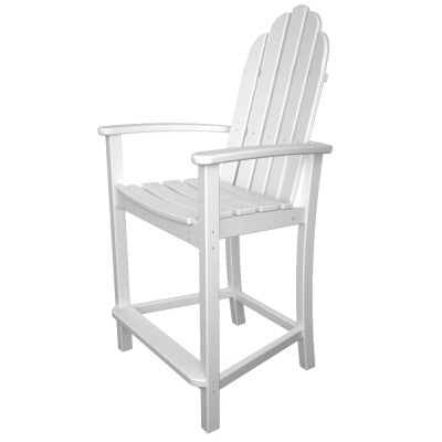 POLYWOOD® Classic Adirondack Counter Chair - Skylar's Home and Patio