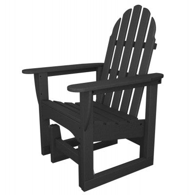 POLYWOOD® Classic Adirondack Glider Chair - Skylar's Home and Patio