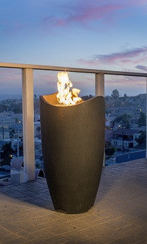 Wave Fire Urn - Skylar's Home and Patio