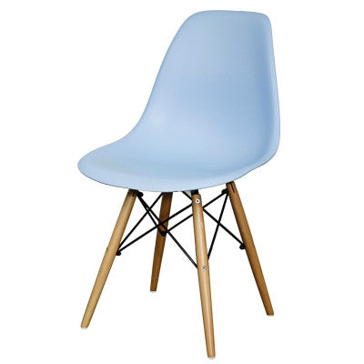 Allen Molded Chair- Blue - Skylar's Home and Patio