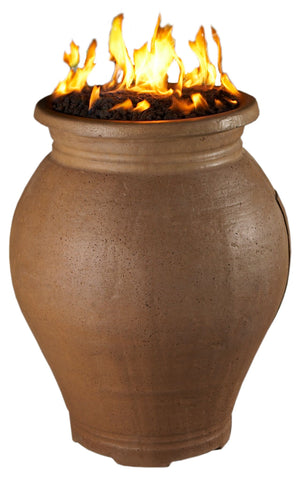 Amphora Fire Urn - Skylar's Home and Patio
