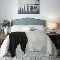 Anna Upholstered Bed - Skylar's Home and Patio