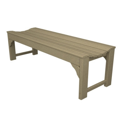 "POLYWOOD® Traditional Garden 60"" Backless Bench"