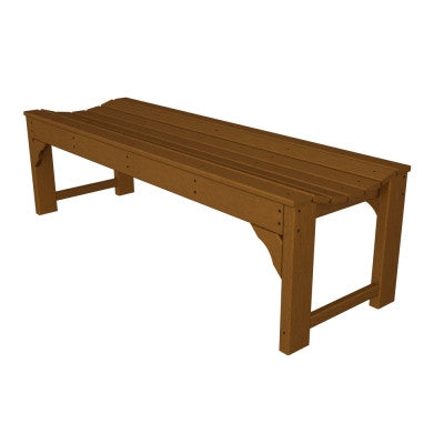 Phenomenal Polywood Traditional Garden 48 Backless Bench Inzonedesignstudio Interior Chair Design Inzonedesignstudiocom