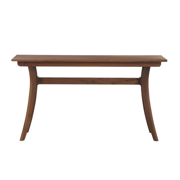 Florence Console Table Walnut - Skylar's Home and Patio