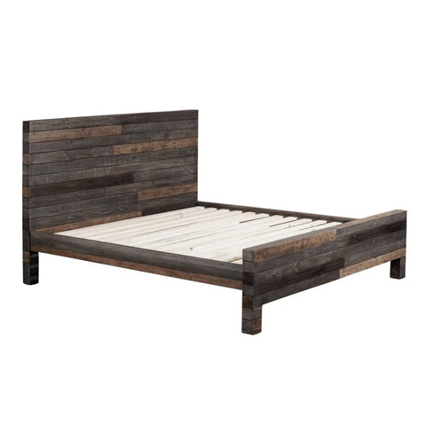 Vintage California King Size Bed Grey - Skylar's Home and Patio