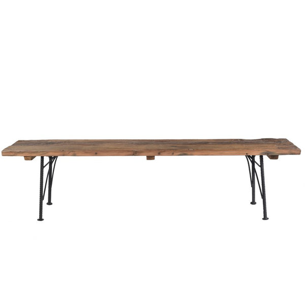 Saria Reclaimed Dining Bench - Skylar's Home and Patio