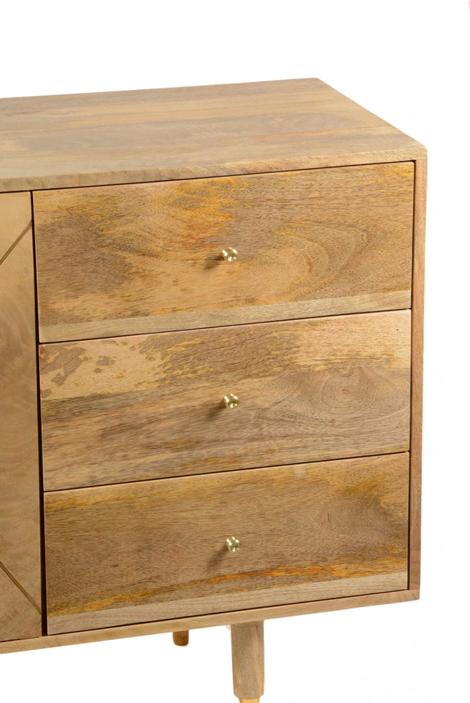 Messinki 3 Drawer Sideboard - Skylar's Home and Patio
