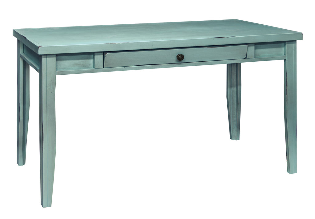 Calistoga Blue Writing Desk - Skylar's Home and Patio