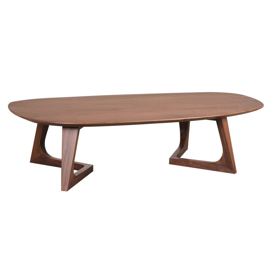 Godenza Coffee Table Walnut - Skylar's Home and Patio