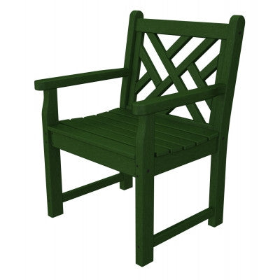 Polywood Garden Chair San Diego: Chippendale Garden Arm Chair