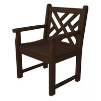 POLYWOOD® Chippendale Garden Arm Chair - Skylar's Home and Patio