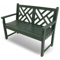 "POLYWOOD® Chippendale 48"" Bench - Skylar's Home and Patio"