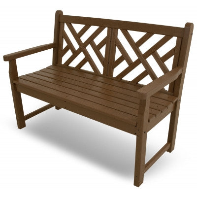 "Polywood Outdoor Bench San Diego: POLYWOOD® Chippendale 48"" Bench"