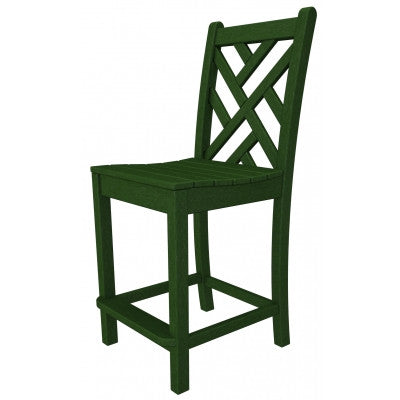POLYWOOD® Chippendale Counter Side Chair - Skylar's Home and Patio