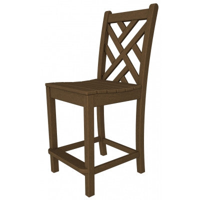 Polywood Counter Stools San Diego: Chippendale Counter Side Chair