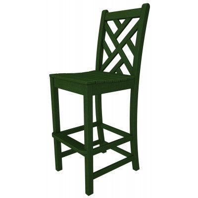POLYWOOD® Chippendale Bar Side Chair - Skylar's Home and Patio