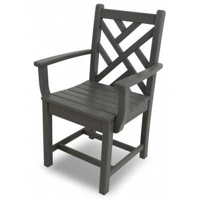Polywood Dining Chairs San Diego: Chippendale Dining Arm Chair
